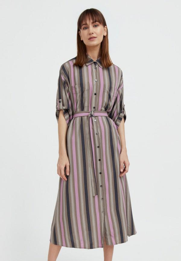 Платье Finn Flare разноцветного цвета