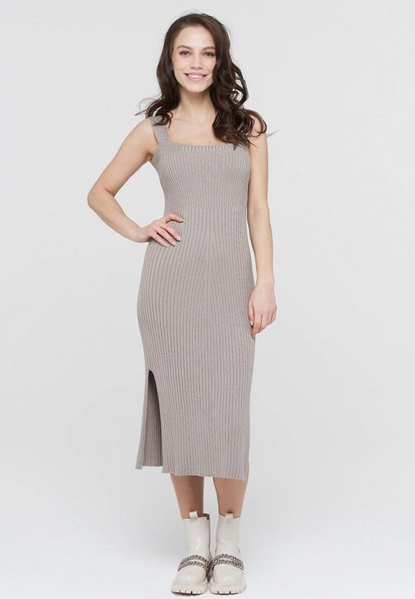 женское платье-свитеры vay, бежевое