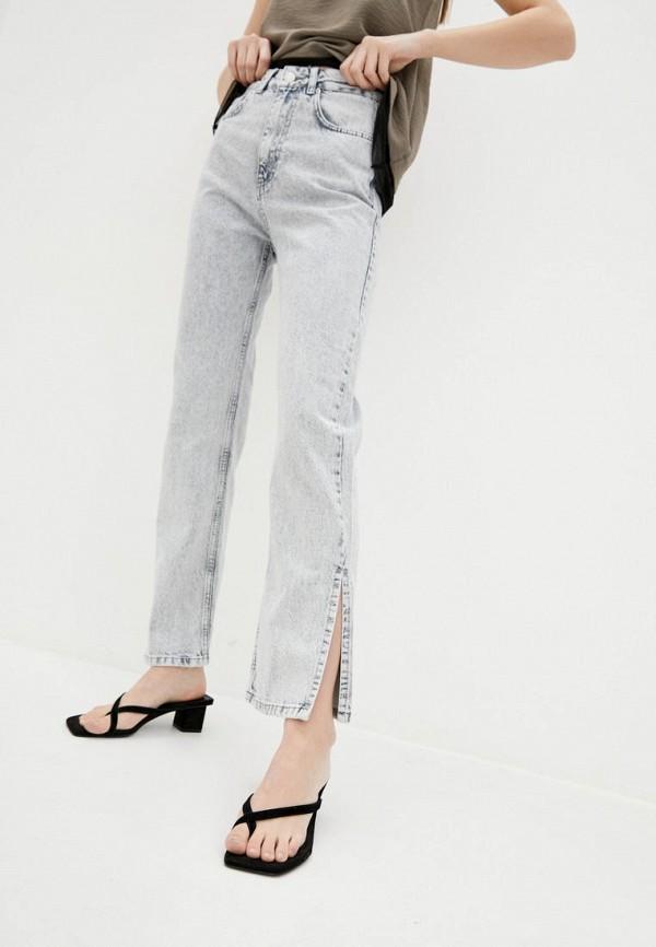 женские прямые джинсы garne, серые