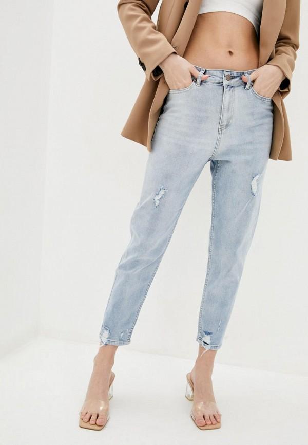 женские джинсы бойфренд garne, голубые