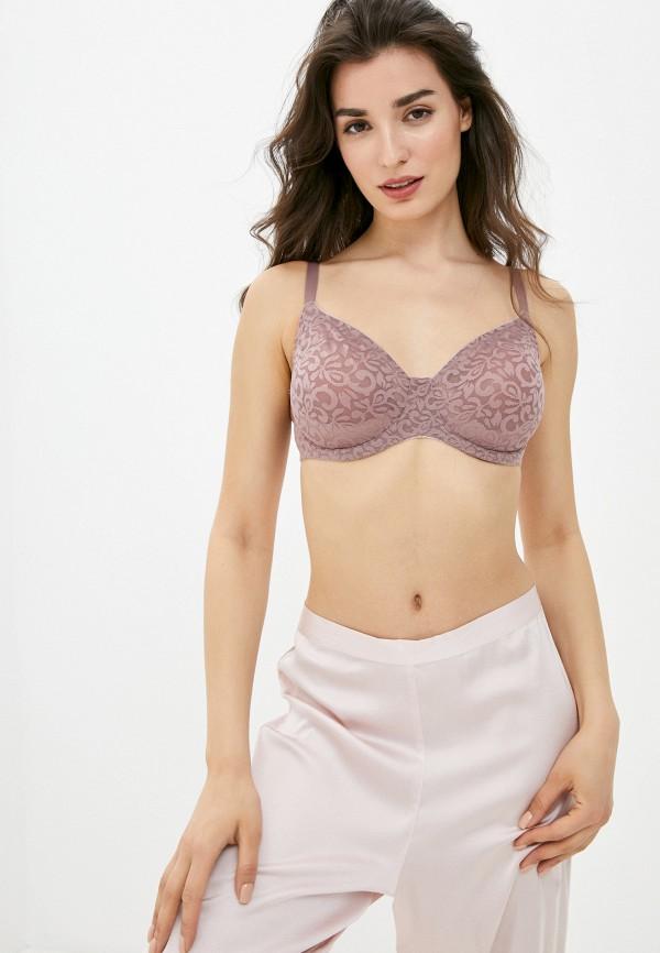женский бюстгальтер на косточках mark formelle, розовый