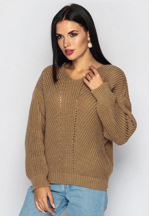женский пуловер larionoff, бежевый