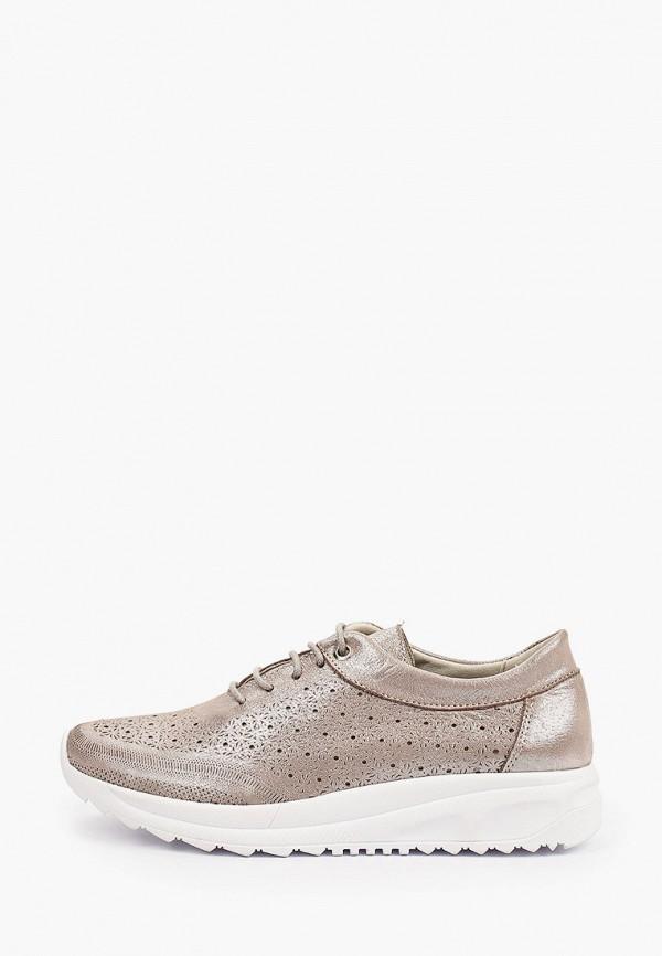 женские низкие кроссовки goodzone, серебряные