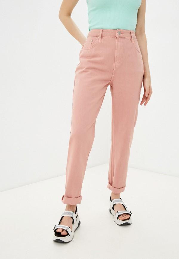 женские повседневные брюки incity, розовые