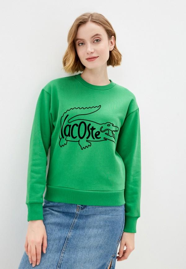 Свитшот Lacoste Lacoste  зеленый фото