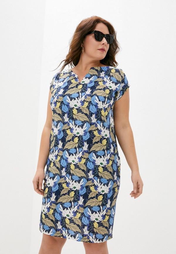 женское платье миди viserdi, разноцветное