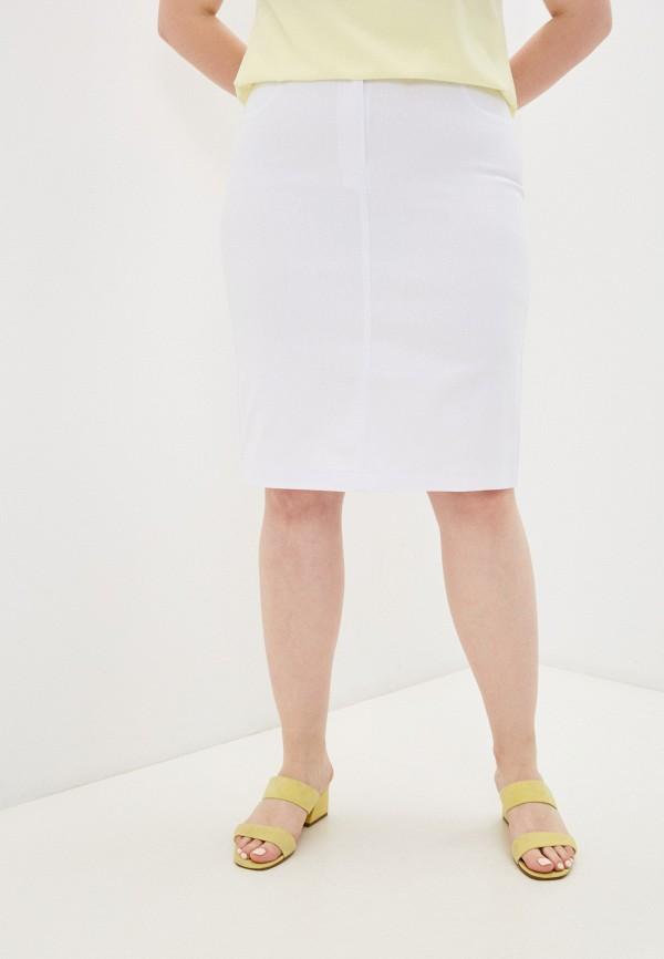 женская прямые юбка viserdi, белая