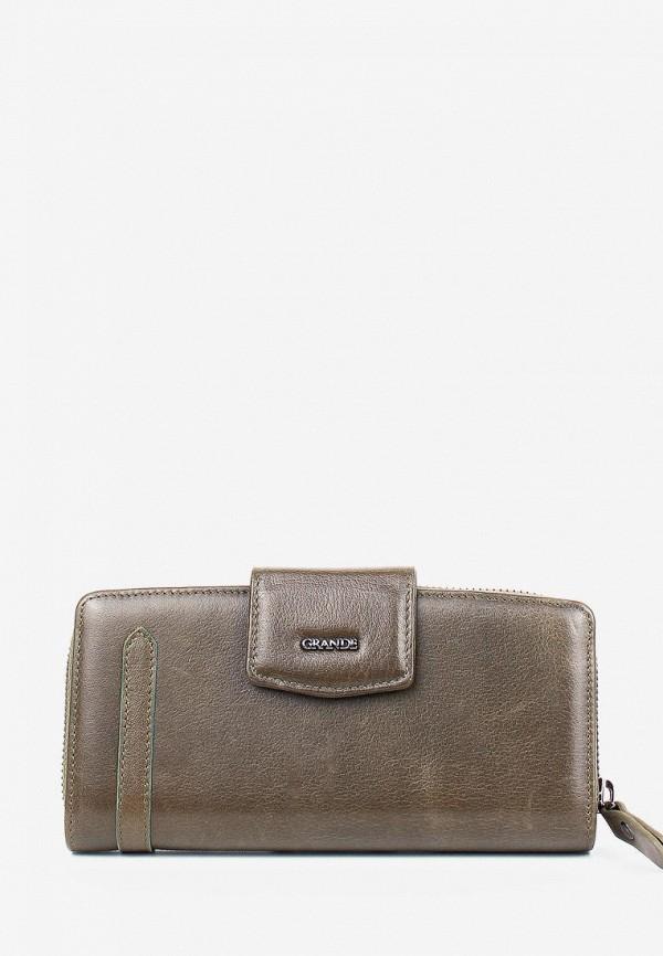 женский кошелёк grande, зеленый