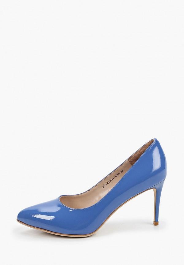 женские туфли-лодочки mascotte, синие