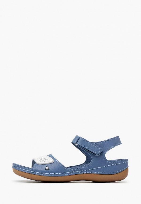 женские сандалии alessio nesca, синие