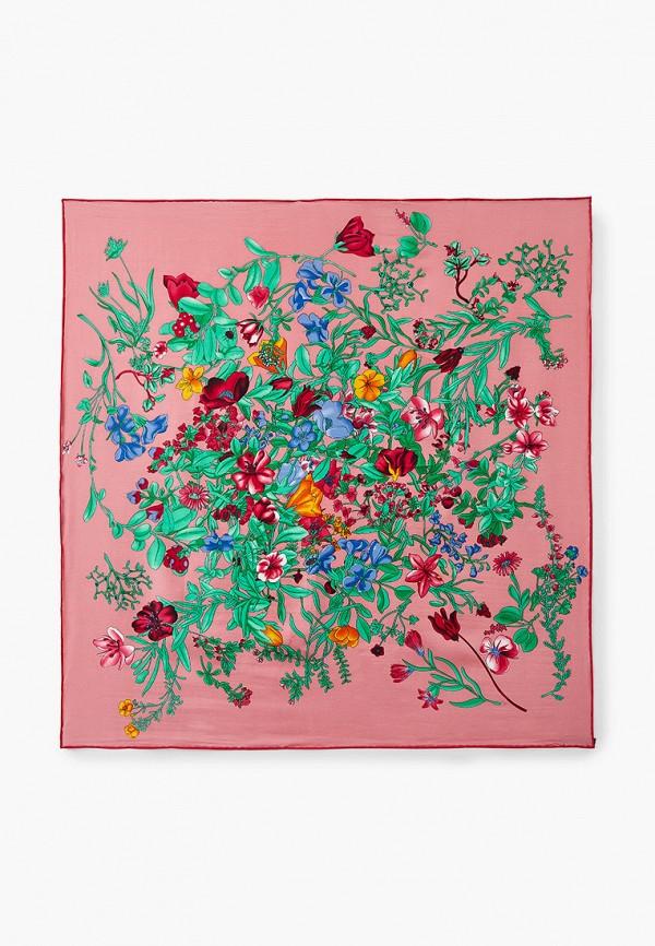 женский платок модные истории, розовый