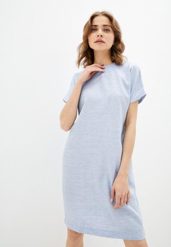 женское повседневные платье eliseeva olesya, голубое