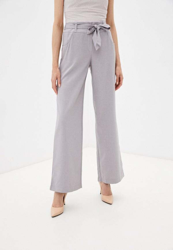 женские брюки клеш viserdi, серые