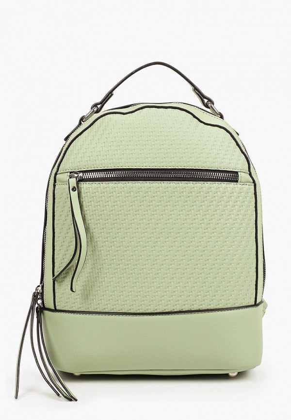 женский рюкзак francesco donni, зеленый