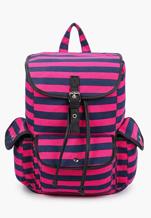 женский рюкзак модные истории, розовый