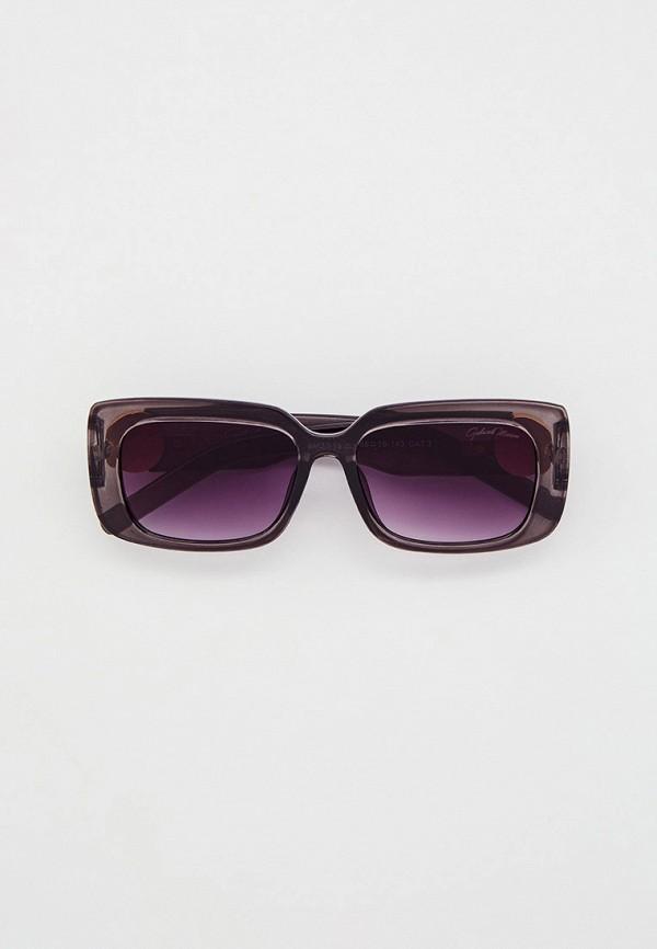 женские квадратные солнцезащитные очки gabriela marioni, серые