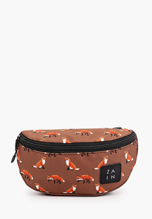 женская поясные сумка zain, коричневая