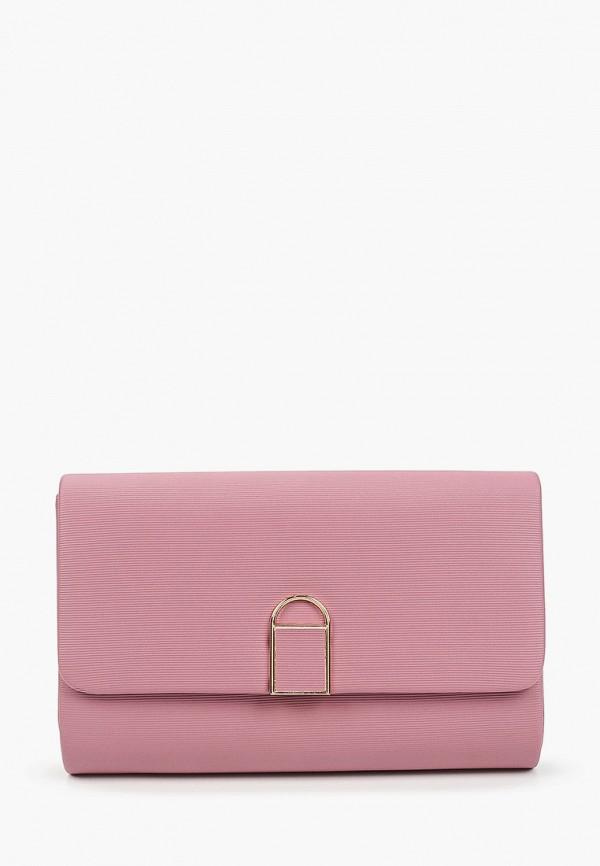 женский клатч модные истории, розовый