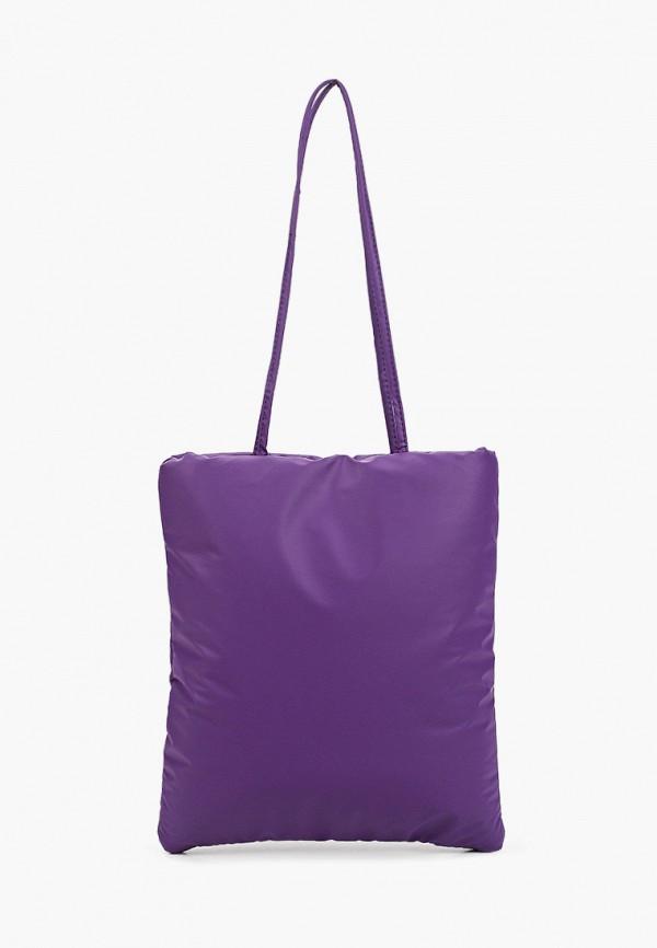 женская сумка с ручками модные истории, фиолетовая