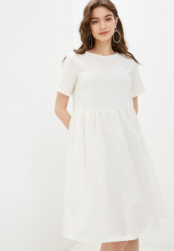женское повседневные платье vittoria vicci, белое