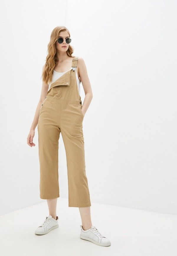 женский комбинезон с брюками element, коричневый