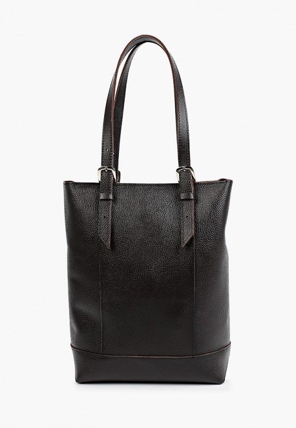 женская сумка-шоперы divalli, коричневая