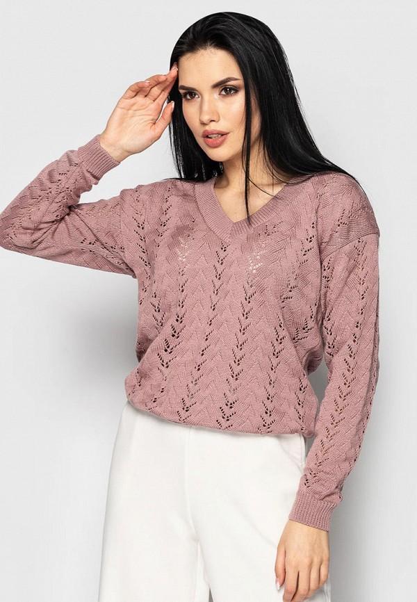 женский пуловер larionoff, розовый