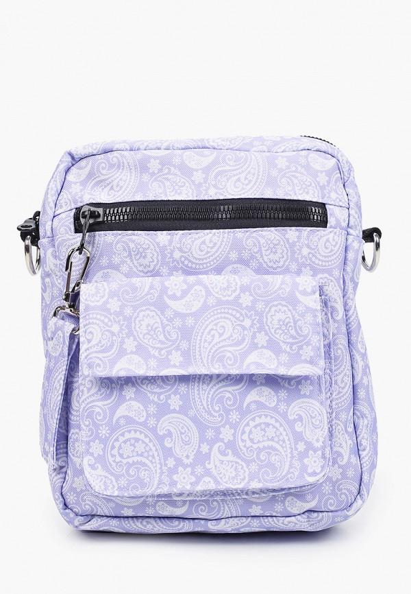 женская сумка через плечо defacto, фиолетовая