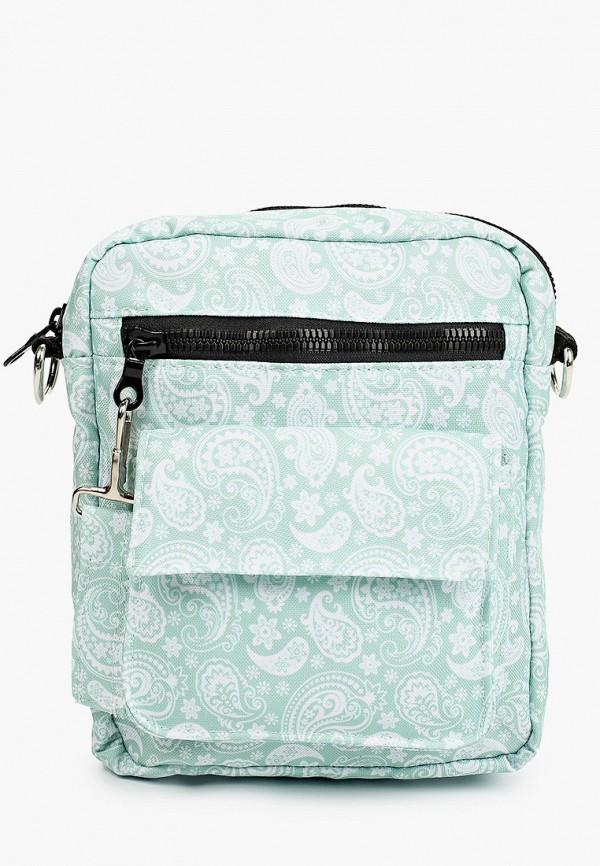женская сумка через плечо defacto, зеленая