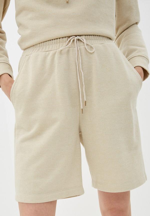 женские спортивные шорты lusio, золотые