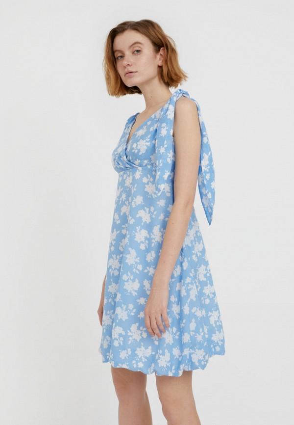 Платье Finn Flare голубого цвета