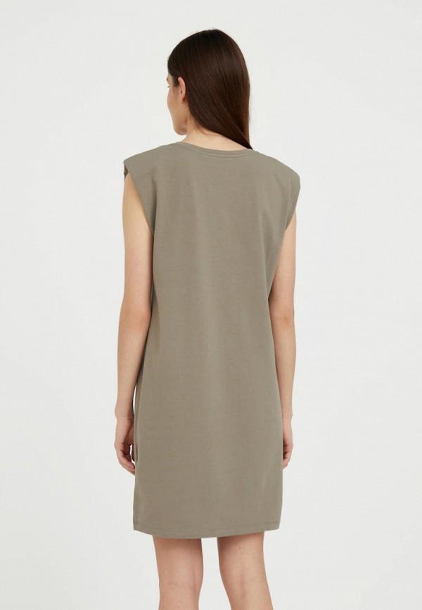 Платье Finn Flare коричневый  MP002XW072VV