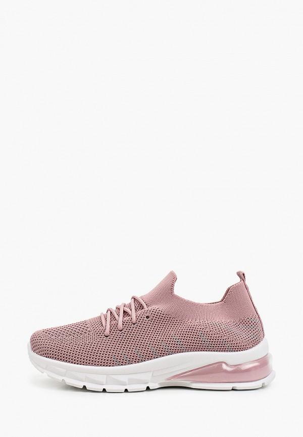 женские низкие кроссовки o2 live, розовые