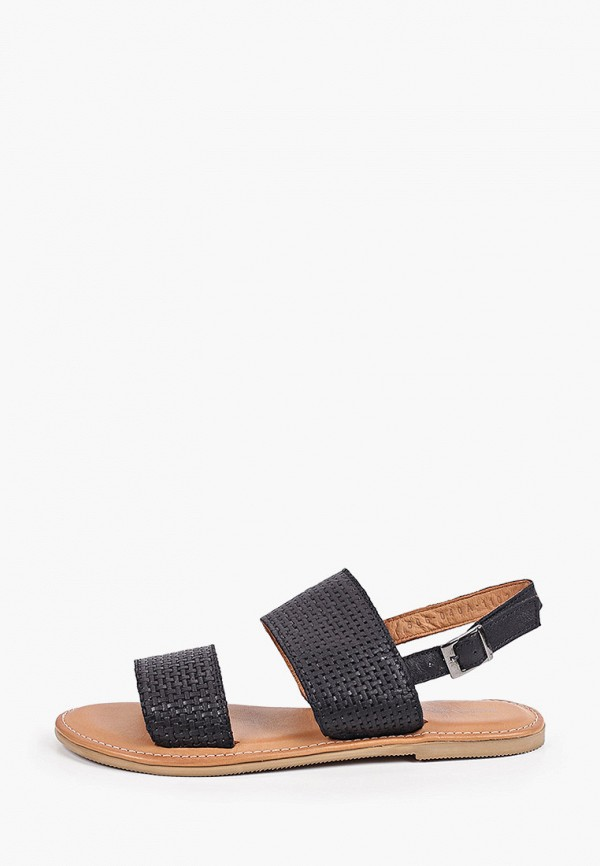 женские сандалии thomas munz, черные