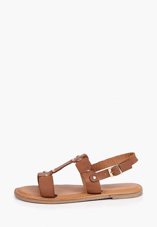женские сандалии thomas munz, коричневые