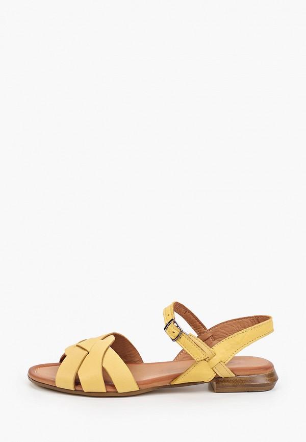 женские сандалии thomas munz, желтые