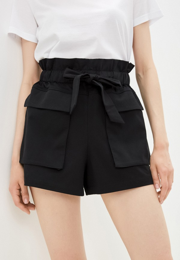 женские повседневные шорты incity, черные