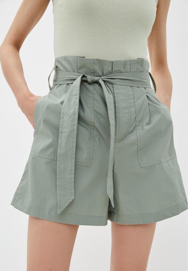 женские повседневные шорты incity, зеленые