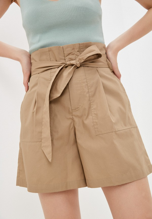 женские повседневные шорты incity, бежевые