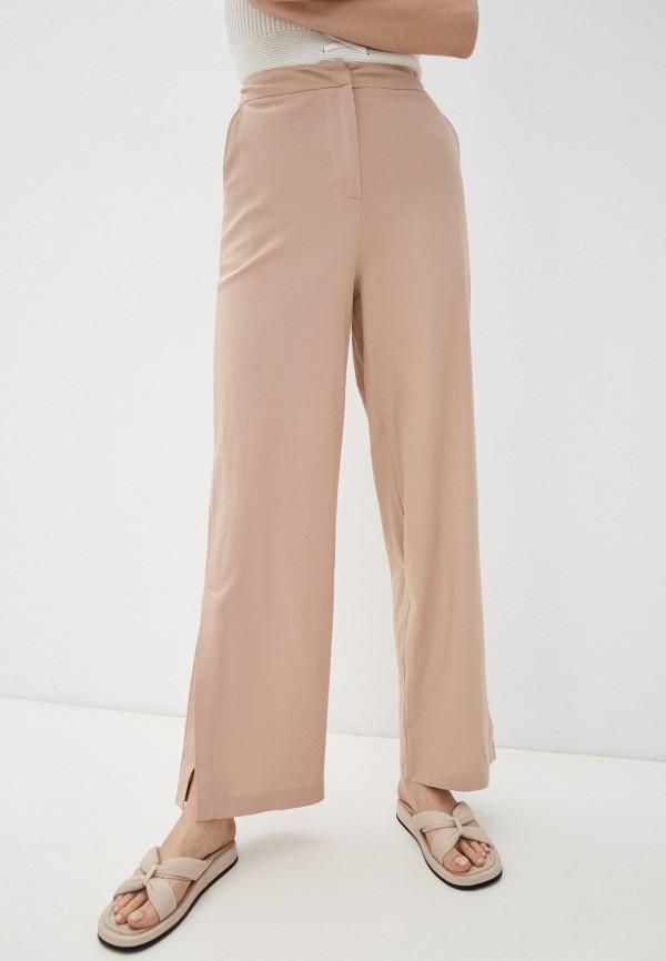 женские повседневные брюки incity, бежевые