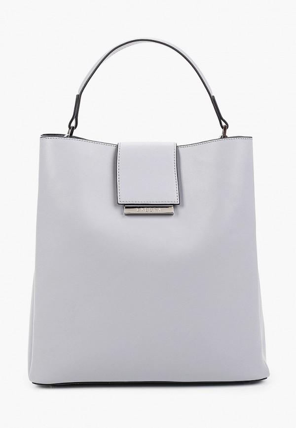 женская сумка с ручками labbra, голубая