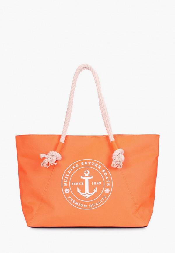 женская сумка poolparty, оранжевая