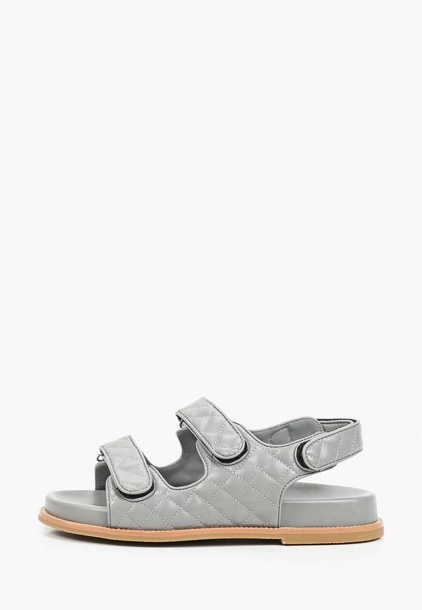 женские сандалии lera nena, серые