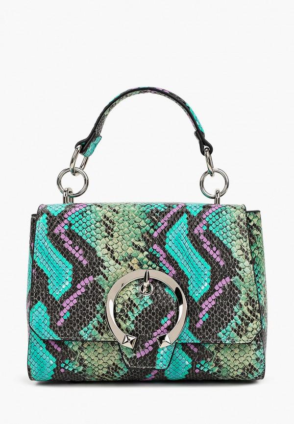 женская сумка с ручками vitacci, разноцветная