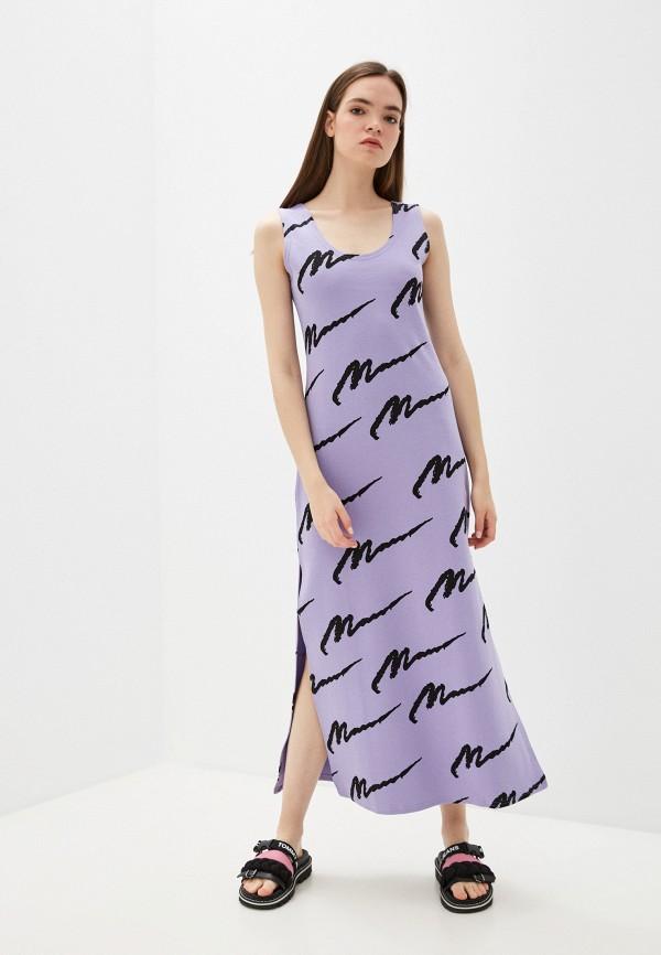 женское платье naturel, фиолетовое