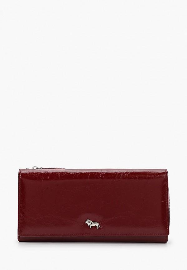 женский кошелёк labbra, бордовый