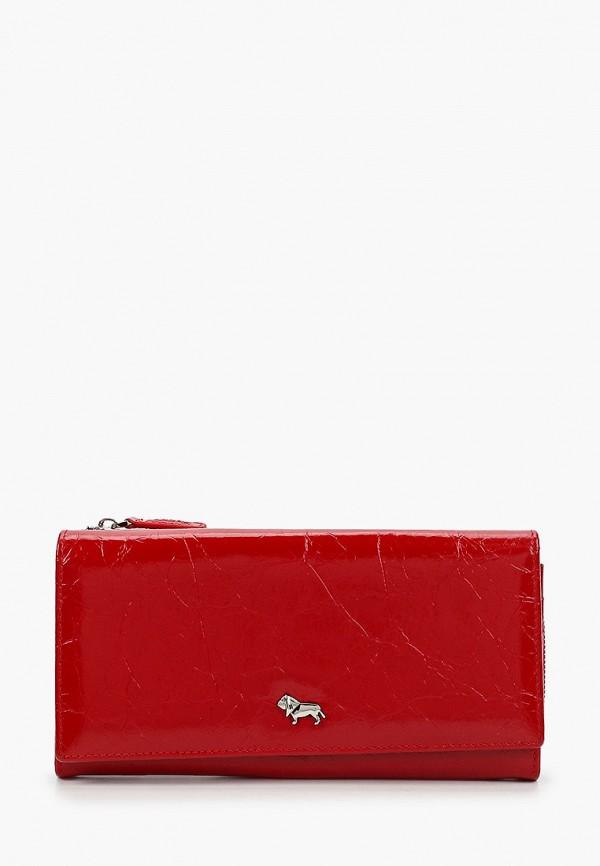 женский кошелёк labbra, красный