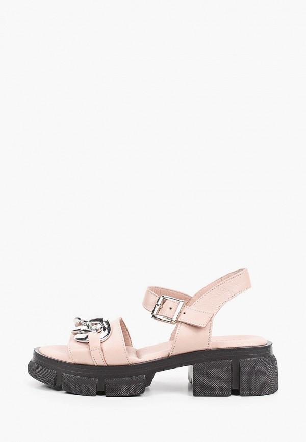 женские сандалии stivalli, розовые