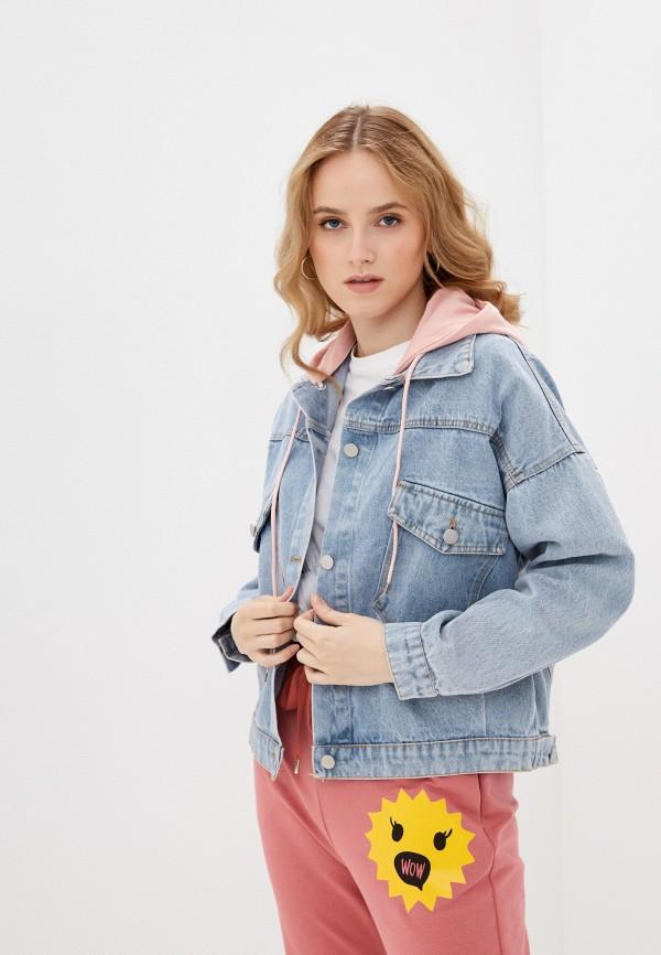 Куртка джинсовая Grafinia голубого цвета
