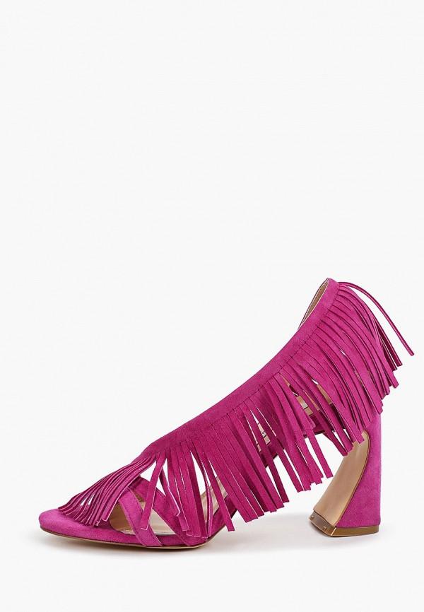 женские босоножки marco bonne', фиолетовые